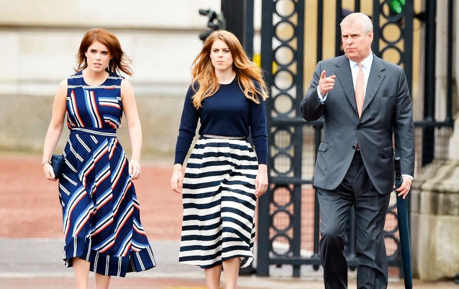Princ Andrew je spregovoril o špekulacijah glede svojih hčera ter princa Charlesa (foto: Profimedia)