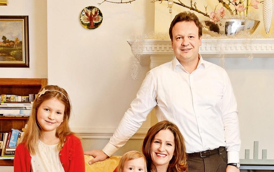 Manca in Benjamin Izmajlova bosta božič preživela doma (foto: Primož Predalič)