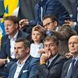 Švedski princeski Estelle je bilo med nogometno tekmo dolgčas!