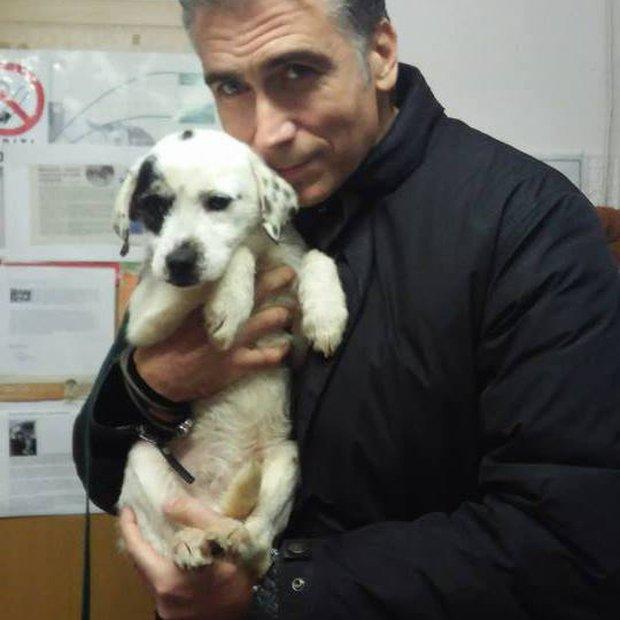 Jan Plestenjak posvojil kužka iz zavetišča