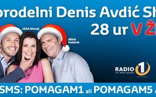 dm in Radio 1 z dobrodelnim radijskim maratonom
