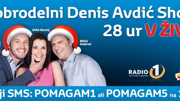 dm in Radio 1 z dobrodelnim radijskim maratonom (foto: Radio 1)