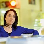 "Anja Bukovec: ""Nisem privrženka neke blazne luksuzne kulinarike!"" (foto: Primož Predalič)"