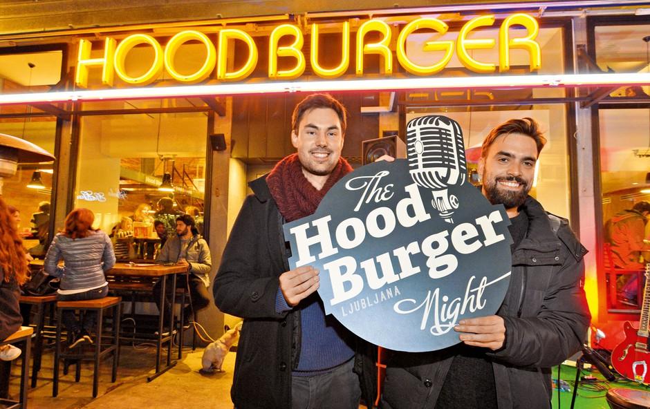 """Hood Burger: """"Hotela sva razbiti kliše, da je burger nekaj slabega!"""" (foto: Primož Predalič)"""
