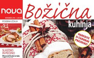 Več kot 70 receptov Božične kuhinje za najlepše praznike!