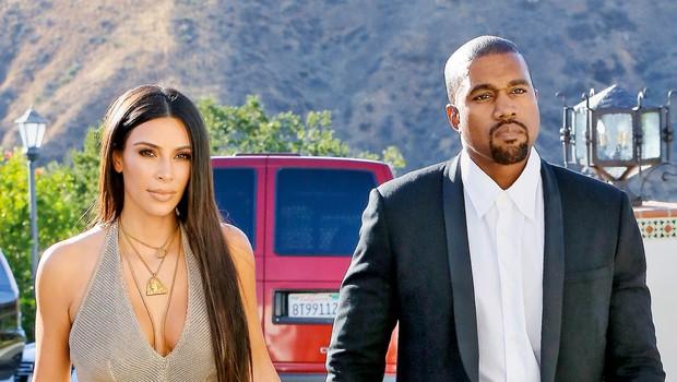 Kim in Kanye veljata za enega izmed najrazvpitejših parov, zdaj pa sta se popolnoma umaknila z oči javnosti. (foto: Profimedia)
