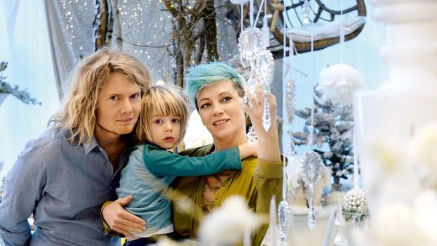 Nataša je priznana jogistka s svojim studiem v središči Ljubljane, Julian pa uspešen igralec, ki nam je vsem dobro poznan z malih zaslonov.  (foto: Primož Predalič)