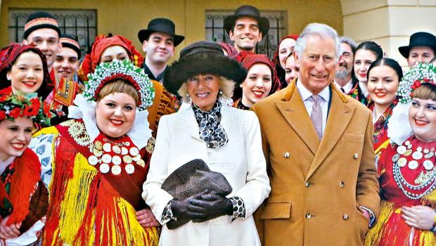 Princ Charles in Camilla poslala čestitko s fotografijo posneto na Hrvaškem (foto: Profimedia)