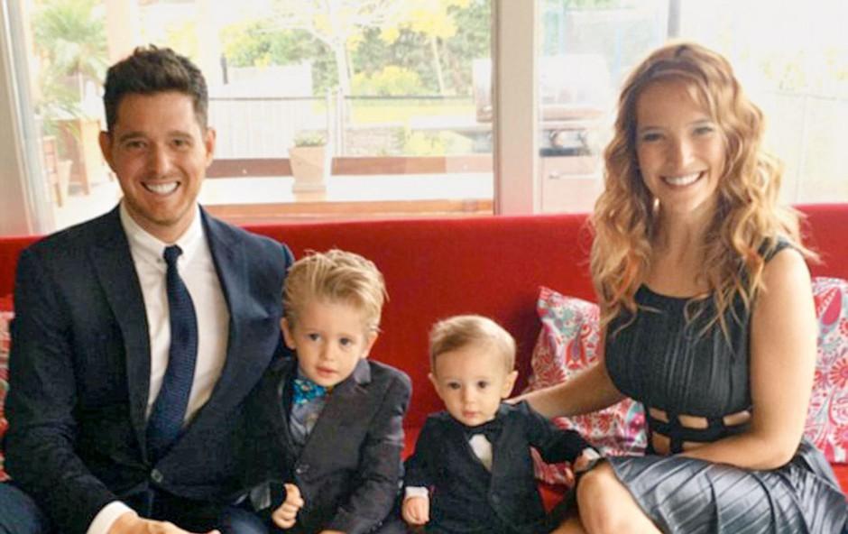 Michael Bublee: Njun sinko bo za božič doma (foto: Profimedia)