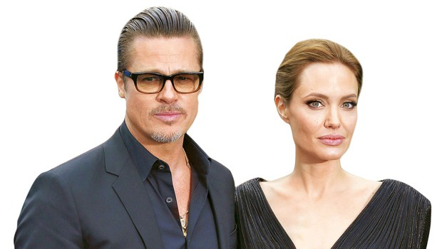 Angelina Jolie in Brad Pitt se borita za skrbništvo otrok (foto: Profimedia)