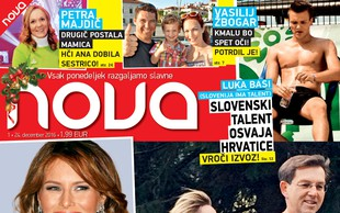 Najbolj vroča nova ljubezenska zgodba Mira Cerarja s fotografijami tudi v novi Novi!