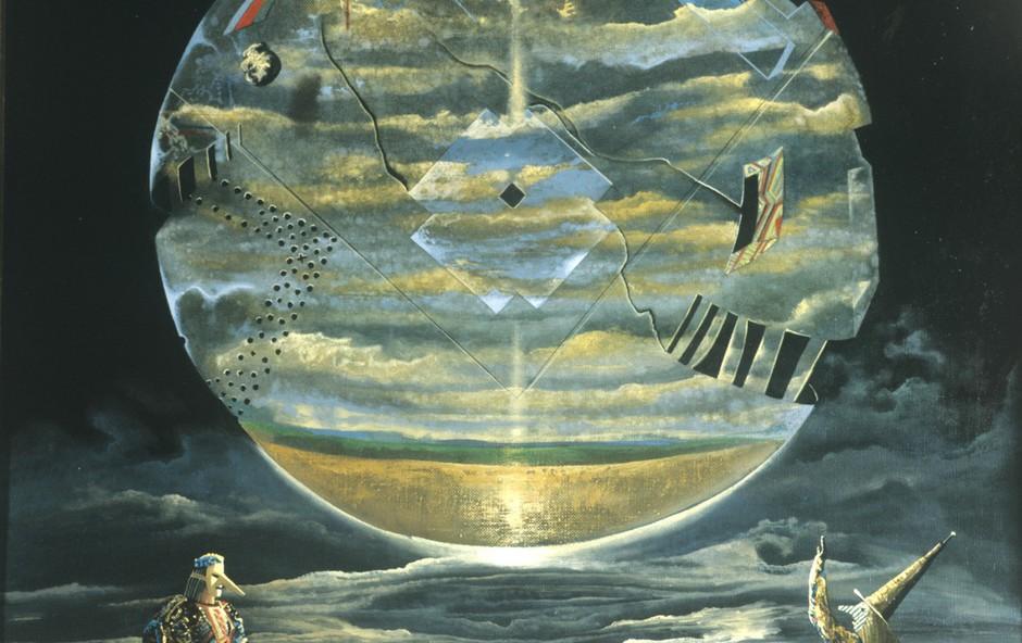Slika Sergeja Krasnova (1995): Dva astrologa z velike lune! (foto: profimedia)