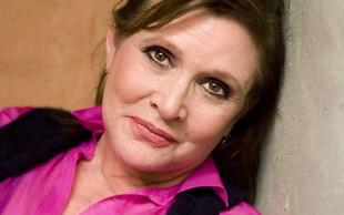 Tudi v VIII. epizodi Vojne zvezd bomo lahko gledali pokojno Carrie Fischer!