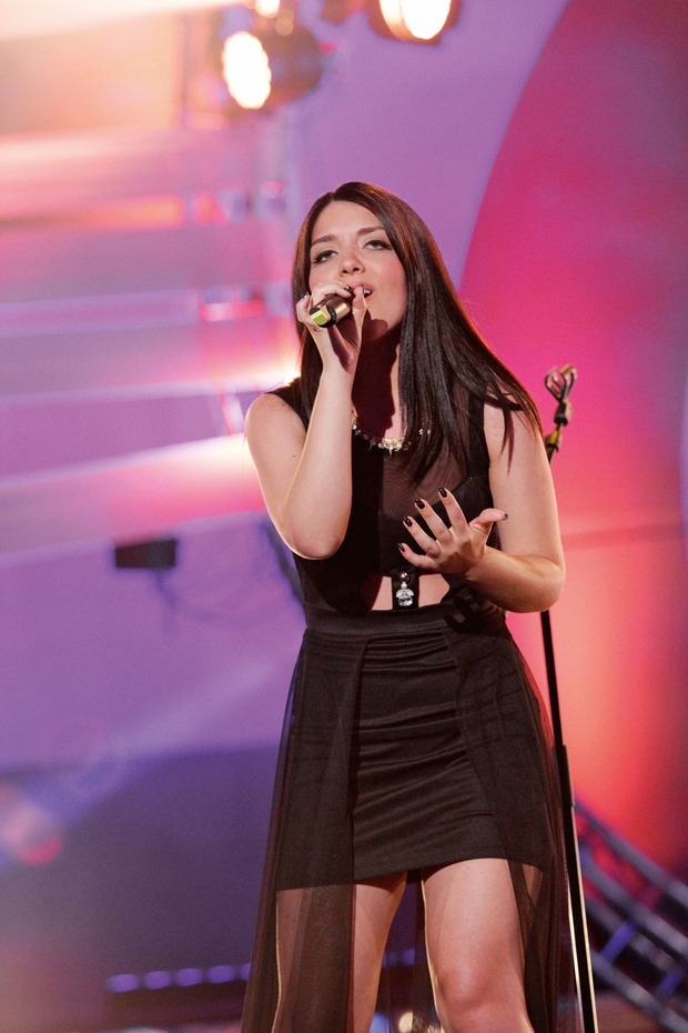 Po sedmih letih bomo Martino Šraj znova videli na odru Eme. Bo prav ona zastopala Slovenijo na Eurosongu? (foto: Lea Press)