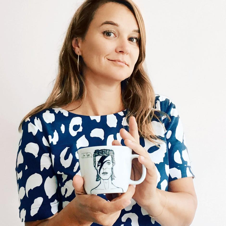 Polona veliko razmišlja o tem, s kom bi si želela na kavo. (foto: Romina Ivančič)