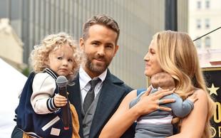 Igralca Ryan Reynolds in Blake Lively sta javnosti prvič pokazala svoji hčerki