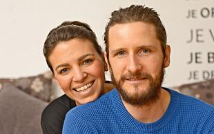 Tina Štrubelj in Simon Oblak (Nelipot) sta v garaži tudi po 20 ur