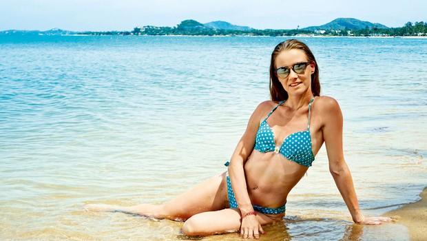 Pevka Ana Vurcer je uživala v tropskih krajih (foto: osebni arhiv)