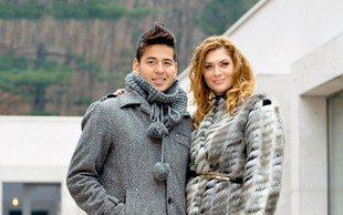 Isaac Palma in Manca Špik sta skupaj obiskala terme in posnela videospot