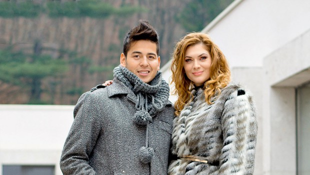 Isaac Palma in Manca Špik sta skupaj obiskala terme in posnela videospot (foto: Aleš Krajnc)