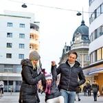 V novo leto so vstopili v hrvaški Istri, kjer so se potepali s prijatelji. (foto: Primož Predalič, osebni arhiv)