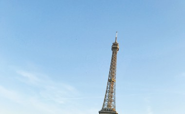 Tina Gaber se je od starega leta poslovila v Parizu