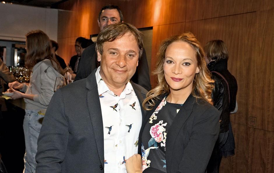 Igralca BojanEmeršič in Viktorija Bencik Emeršič bosta prvič stala skupaj na odru (foto: Sašo Radej)