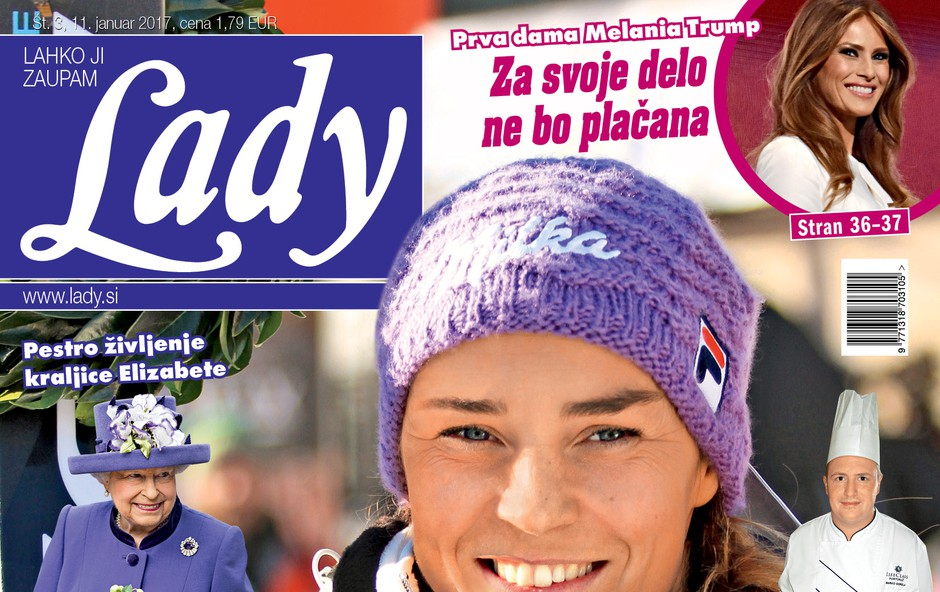 V novi Lady o dokončnem slovesu čustvene Tine Maze! (foto: Lady)