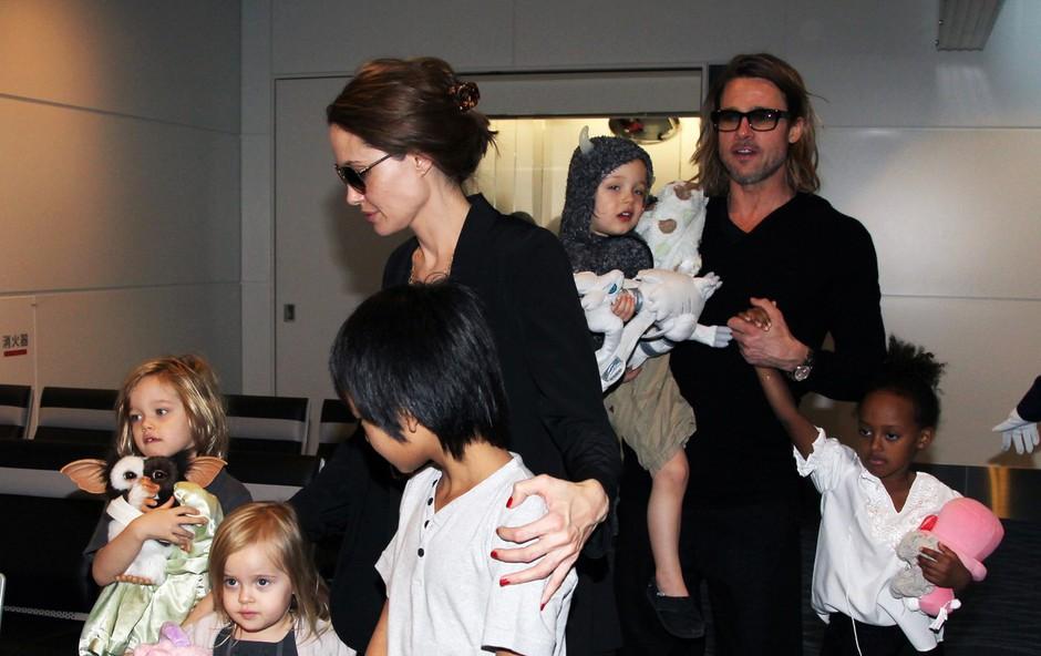 Angelina Jolie in Brad Pitt še brez končnega dogovora o skrbništvu (foto: Profimedia)