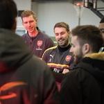 Vas zanima, kako so Dunking Devils snemali trike z Arsenalom? (foto: Dunking Devils & Arsenal)