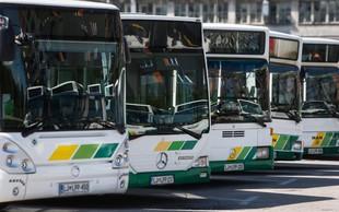 V LPP zagorel električni avtobus, ogelj pa se je razširil na stavbo in sosednje avtobuse!
