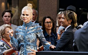 Nicole Kidman se je s svojim možem sprla kar na rdeči preprogi