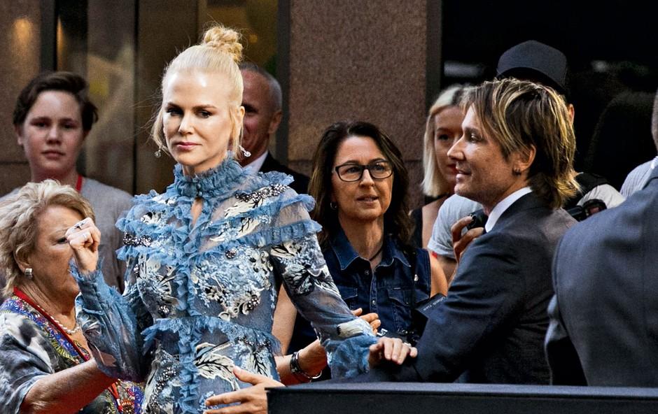 Nicole Kidman se je s svojim možem sprla kar na rdeči preprogi (foto: Profimedia)