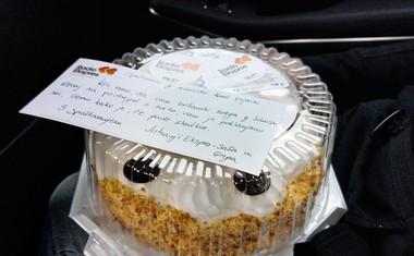 Voditelja Radia Ekspres sta Karla Erjavca pogostila s torto