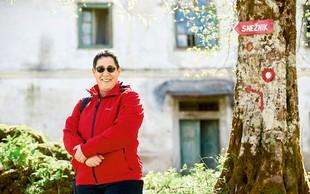 Knjižna urednica Alenka Veber se rada vrača v domače Babno Polje