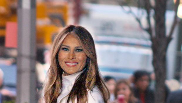 Melanie Trump ima resen, vendar seksi stil oblačenja (foto: Profimedia)