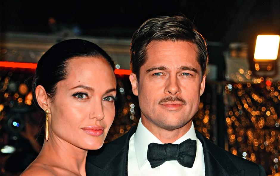 Angelina Jolie in Brad Pitt bosta ločitveni postopek nadaljevala za zaprtimi vrati (foto: Profimedia)