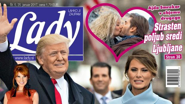 V novi Lady o velikem slavju v Sevnici v čast prve dame Melanie Trump (foto: Adriamedia)