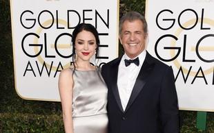 Mel Gibson pri 61 letih devetič postal oče