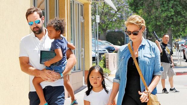 Igralka Katherine Heigl je postala tretjič mamica (foto: Profimedia)