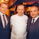 Za vrhunsko kulinariko je poskrbel vrhunski kuharski mojster Jože Oseli, nad njegovimi mojstrovinami je bil navdušen tudi odvetnik Janez Starman. (foto: Dean Dubokovič)