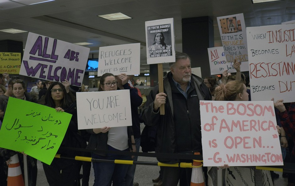 Zaradi Trumpovih prepovedi so zaskrbljeni ameriška javnost, kongresniki in podjetja! (foto: profimedia)