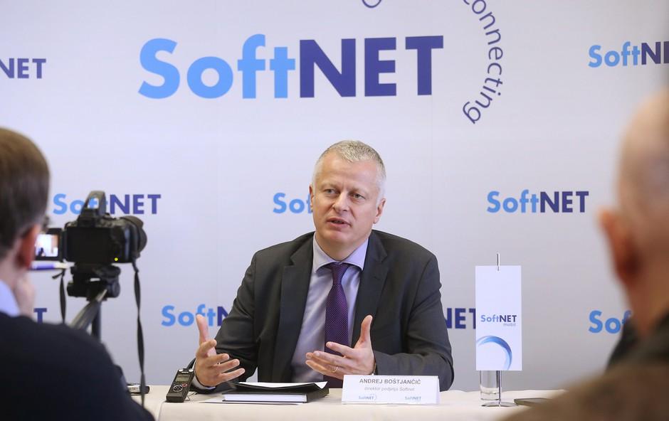 Andrej Boštjančič, direktor podjetja Softnet (foto: Barbara Reya)