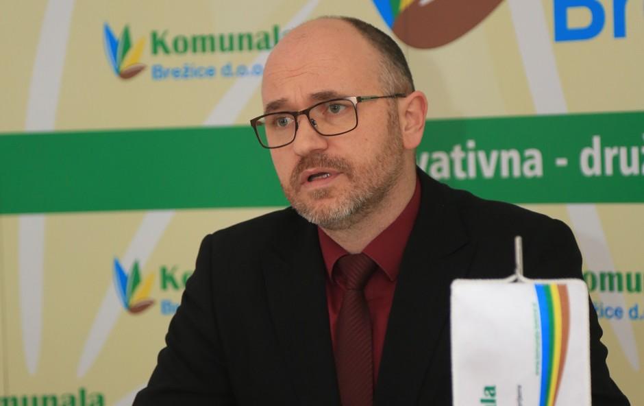 Direktor Komunale Brežice je predstavil smele načrte za letošnje leto. (foto: Goran Rovan)