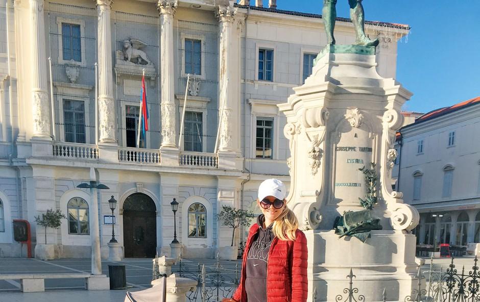 """Nekdanja mis Slovenije Lana Mahnič Jekoš: """"Nikoli nisem bila velika ljubiteljica dojenčkov!"""" (foto: osebni arhiv)"""