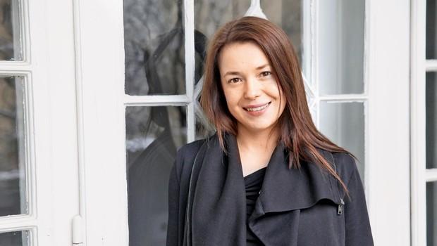 """Igralka Nina Ivanišin: """"Antigona bi morda z menoj fizično obračunala."""" (foto: Helena Kermelj)"""