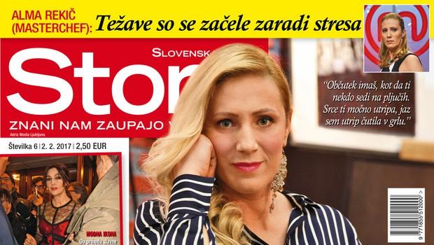 Alma Rekič za Story iskreno o tem, kako je skoraj doživela infarkt!