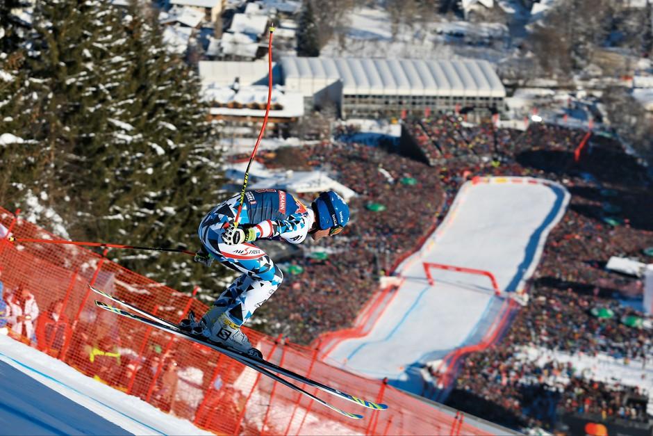 Kitzbühel je kraj, kjer se združijo znana imena, hitrost ter nora zabava (foto: Profimedia)