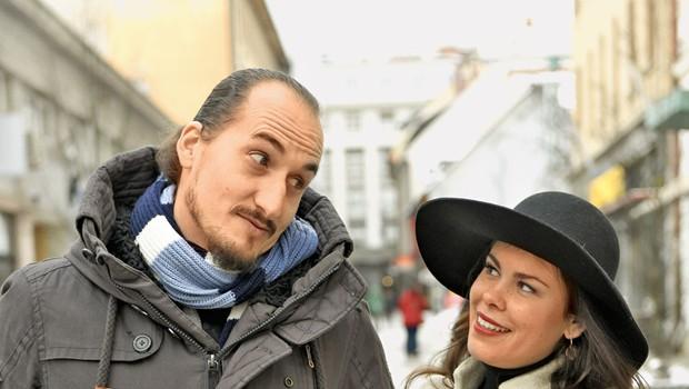 "Ana Marija Mitić in Vid Valič: ""Čedalje bolj popularni smo!"" (foto: Igor Zaplatil)"