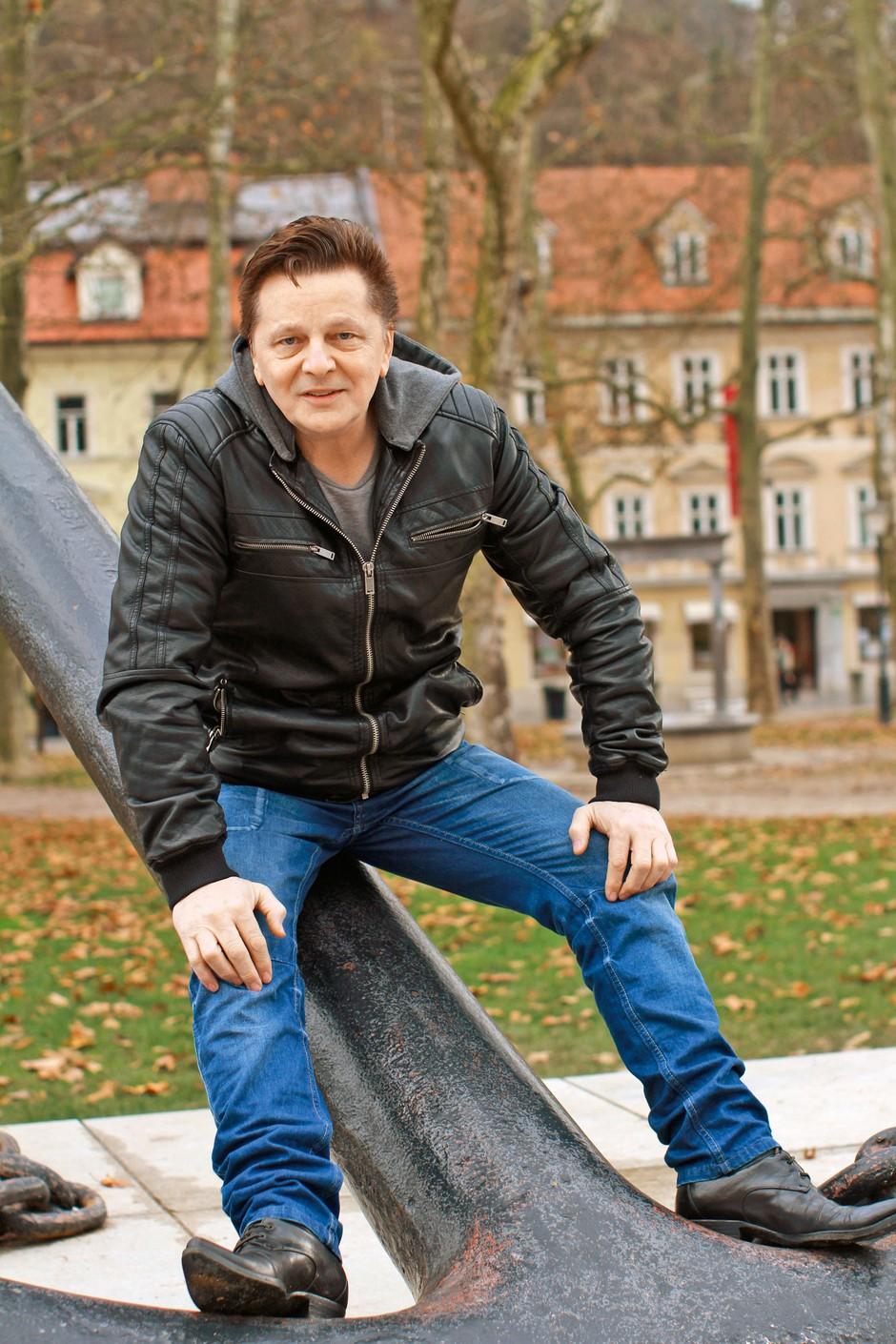 "Danijel Popović: ""Glasbo imam v sebi."" (foto: Goran Antley)"